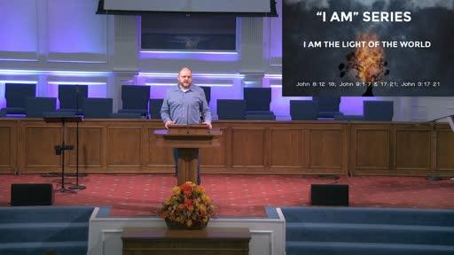 """""""I AM"""" SERIES: I AM THE LIGHT OF THE WORLD- NOV. 15, 2020"""