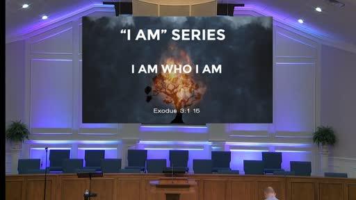 """I AM"" SERIES: I AM WHO I AM- OCT. 25, 2020"