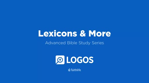 14. Lexicons And More