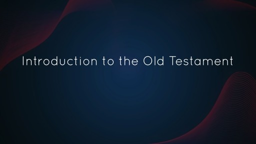 Introduction to Old Testament Studies: Introduction