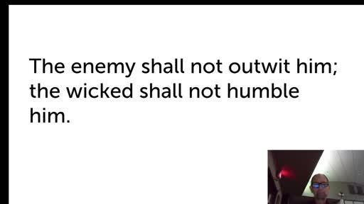 Tues.  Nov. 17,  '20 4th PPT Psalm 89