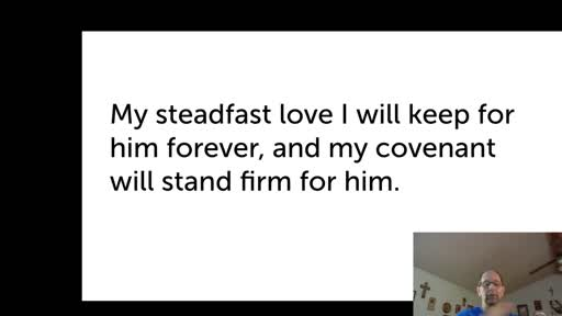 Wed.  Nov. 18,  '20 2nd PPT Psalm 89