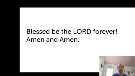 Thurs.  Nov. 19,  '20 4th PPT Psalm 89