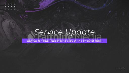 Service Update Marble