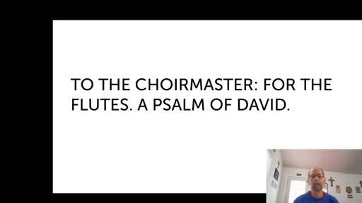 Fri.  Nov 20,  '20 1st PPT Psalm 5
