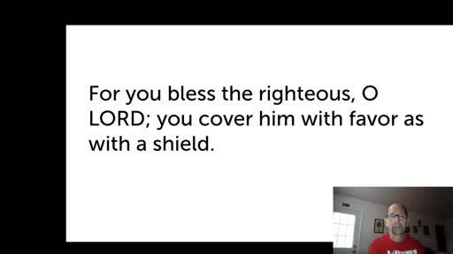 Sat. Nov. 21,  '20 2nd PPT Psalm 5