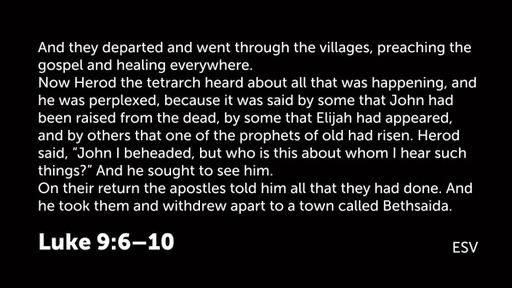 Mark 6:1-29