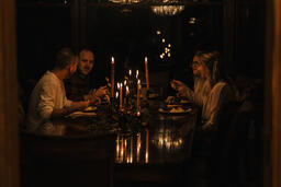 Small Group Sharing a Meal Together  image 1