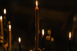 Candlelit Dining Table  image 1