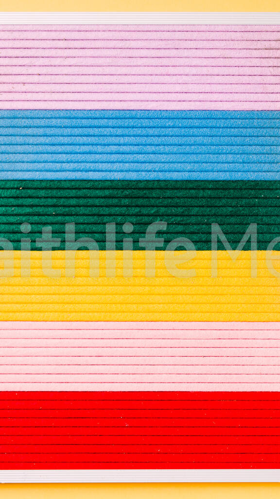 Letter Board on Yellow Background large preview