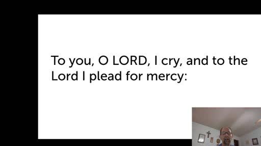 Fri.  Nov. 27,  '20 1st PPT Psalm 30