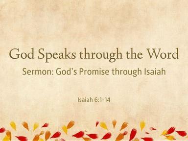 God's Promise through Isaiah