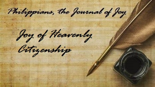 Joy of Heavenly Citizenship