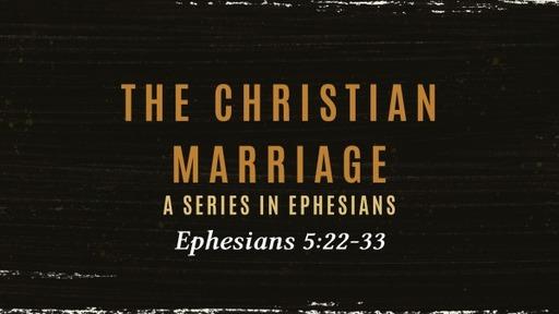 A Christian Marraige