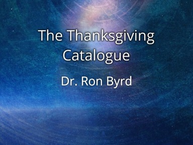 The Thanksgiving Catalogue
