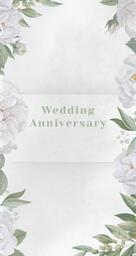 Wedding Anniversary White  PowerPoint image 4