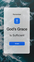 God's Grace Ocean  PowerPoint image 8