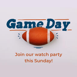 Game Day Football  PowerPoint image 5