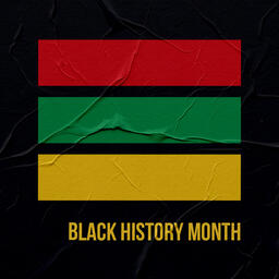 Black History Month Stripes  PowerPoint image 5