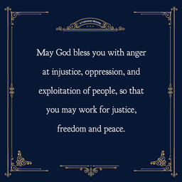 A Franciscan Blessing  PowerPoint image 5
