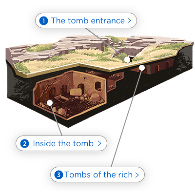 Discover what Jesus' tomb was really like.