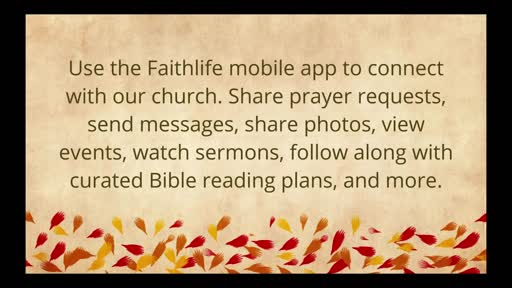 FBJC Worship Service 11.22.20