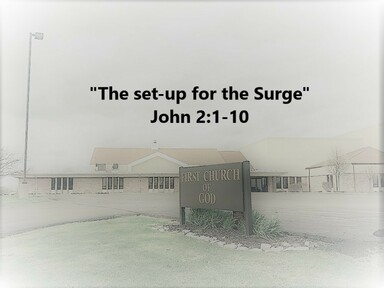 """""""The set-up for the Surge"""""""