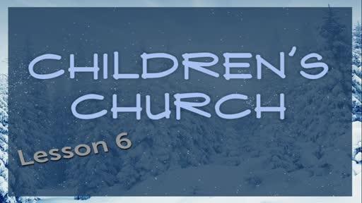 Children Church - Genesis Lesson 6