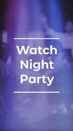 Watch Night Party Purple  PowerPoint image 4