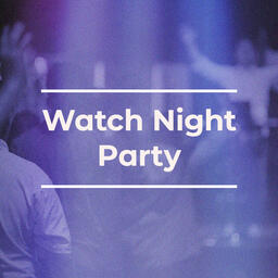 Watch Night Party Purple  PowerPoint image 3