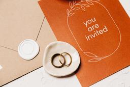 Wedding Invitation Suite in Desert Tones  image 15