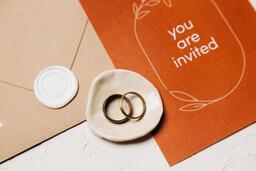 Wedding Invitation Suite in Desert Tones  image 44