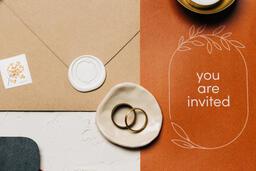 Wedding Invitation Suite in Desert Tones  image 25