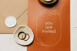 Wedding Invitation Suite in Desert Tones  image 31
