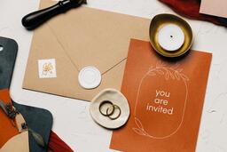 Wedding Invitation Suite in Desert Tones  image 27