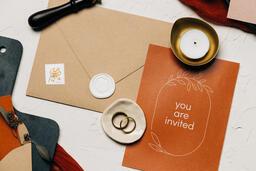 Wedding Invitation Suite in Desert Tones  image 32