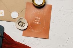 Wedding Invitation Suite in Desert Tones  image 14