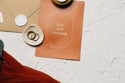 Wedding Invitation Suite in Desert Tones  image 16