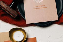 Wedding Invitation Suite in Desert Tones  image 26