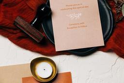 Wedding Invitation Suite in Desert Tones  image 41