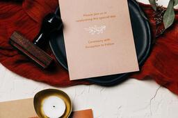 Wedding Invitation Suite in Desert Tones  image 33
