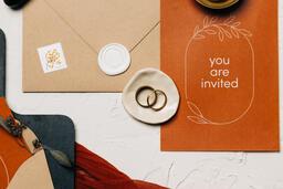 Wedding Invitation Suite in Desert Tones  image 22
