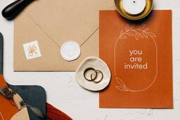 Wedding Invitation Suite in Desert Tones  image 21
