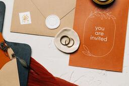 Wedding Invitation Suite in Desert Tones  image 30