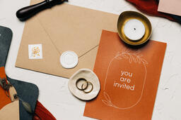 Wedding Invitation Suite in Desert Tones  image 20