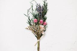 Dried Bridal Bouquet  image 1