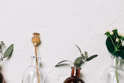 Florals and Greenery in Bud Vases  image 10