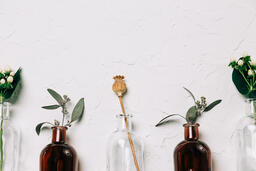 Florals and Greenery in Bud Vases  image 19