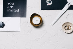 Wedding Bands and a Tea Light  image 31