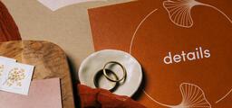 Wedding Invitation Suite in Desert Tones  image 10